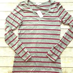NWT Forever 21 Long Sleeve Tee Size L